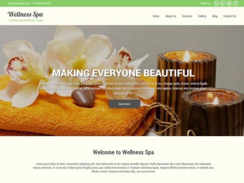 Beauty Spa Lite-wordpress-theme