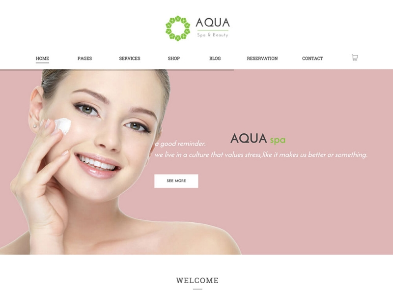 aqua-spa-wordpress-theme