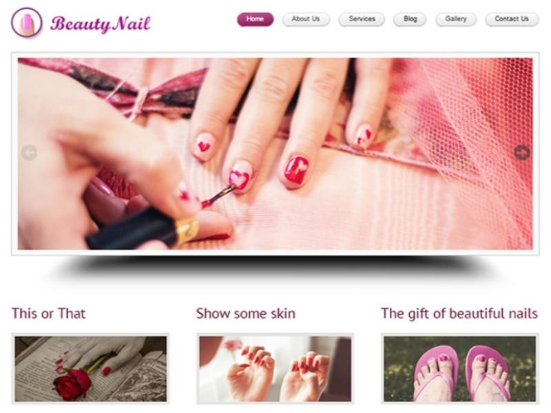 beauty-Nail-wordpress-theme